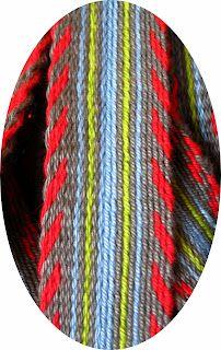 Russian belt - tablet weaving