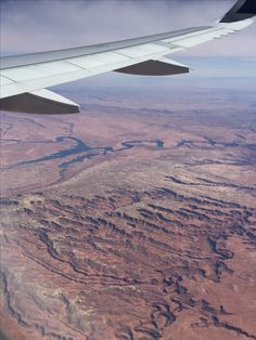 View of the Southwest US from the air