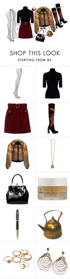 """""""My Best Days"""" by bansheebeat ❤ liked on Polyvore featuring Falke, Theory, AlexaChung, Jeffrey Campbell, A.L.C., Chanel, American Vintage, Parker and Oliver Peoples"""