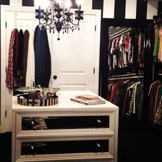 @Lisa Phillips-Barton Carney refreshed her closet with our Concerto 3 Drawer Chest & Mirage Tray.
