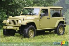Jeep Wrangler ''J8 Sarge'' Prototype (video)  I STILL want this Jeep.  I guess I have to join the Egyptian Army to get one :(