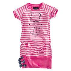 Z8 jurkje - fluor pink milou
