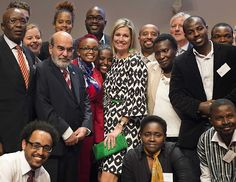 Queen Maxima attended the conference on 'The Future of Farming and Food Security in Africa' at the RABO-bank headquarters in Utrecht on June 22, 2015. (The conference focuses on food in Africa, economic development, food security in both urban and rural areas and loans for farming.)