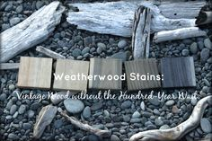 WEATHERWOOD STAINS -