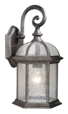 View the Vaxcel Lighting OW39783 Chateau 1 Light Outdoor Wall Sconce at LightingDirect.com.