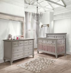 Rustic elegance. The Belmont Collection in gray - Natart Furniture
