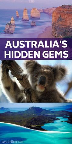 Our Favorite Hidden Gems in Australia Planning a trip down under? You'll want to visit Australia's top spots and its hidden gems. With so many amazing destinations to visit, you're going to have an epic adventure. Perth, Brisbane, Melbourne, Australia Travel Guide, Visit Australia, Australia Trip, Western Australia, Coast Australia, Sydney Australia