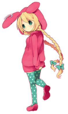 thing I just made up tht I wont tell anyone until later in the series: Cassidy was made to resemble a seven year old version of carrot (above) because that was before her hair turned green hahahaha I'm a genius- jk