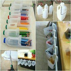 Organizing color pencils