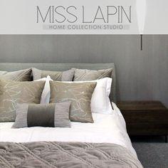 MISS LAPIN简约现代港式/酒店样板间床品套件多件套/灰色十一件套-淘宝网