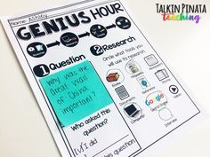 Passion Projects for Primary Students — Genius Hour, Inquiry Based Learning, Classroom Community, Passion Project, Oct 31, Encouragement, Teacher, Students, This Or That Questions