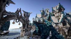 Elven City of Lothariel Minecraft Fantasy City Download Word Elven city Fantasy city Minecraft castle