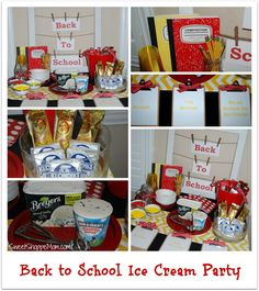 Sweet Shoppe Mom: Celebrate Back to School with an Ice Cream Party #ad #safeway #ASweetSale until 8/11