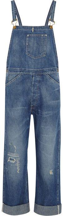 Levi's Bib and Brace distressed denim overalls on shopstyle.com
