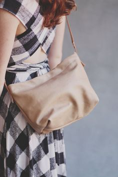 This bag is the perfect size and color for any occasion.