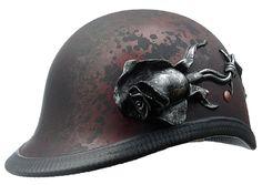 Custom handcrafted helmets by designer Marix Stone.