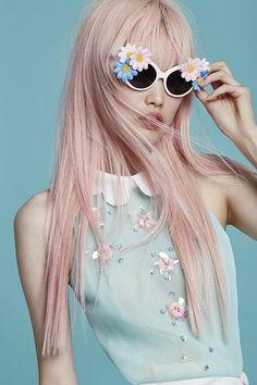 Pretty in pastel Pastel Hair, Pink Hair, Pastel Pink, Corte Y Color, Foto Pose, Pretty Pastel, Powerpuff Girls, Editorial Fashion, Ideias Fashion