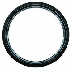 Range Kleen P-R6-GE Porcelain GE, Hotpoint, And Kenmore Trim Ring by Range Kleen. $5.29. Style D. Fits most hinged electric ranges including GE, Hotpoint, and Kenmore. Nonstick, heavy duty black porcelain. Made in U.S.A. No. P R6 GE: Small, 6'' trim ring, use model No. P105 drip pan No. P R8 GE: Large, 8'' trim ring, use model No. P106 drip pan