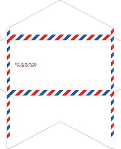 Old-Fashioned Correspondence: Airmail envelopes