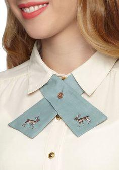 Raise the Hoof Collar Tie, #ModCloth
