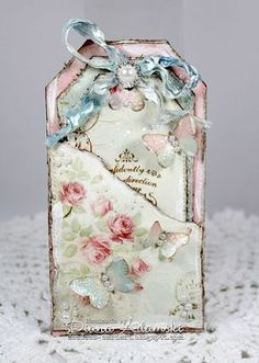 DeeDee´s Card Art: ♥ Live & Love Crafts DT - Pink & One Other Color ♥ gift tags shabby chic Shabby Chic Karten, Shabby Chic Cards, Shabby Chic Journal, Vintage Tags, Shabby Vintage, Manualidades Shabby Chic, Handmade Tags, Paper Tags, Love Craft