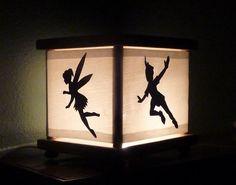Peter Pan nursery Nightlight Night Light Lamp Captain Hook Tinker Bell Crocodile