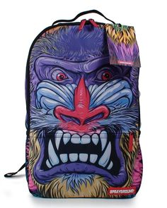 Sprayground JUNGLE BEAST BACKPACK 'MULTI COLOR' in Clothing, Shoes & Accessories, Unisex Clothing, Shoes & Accs, Unisex Accessories | eBay