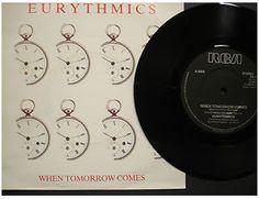At £4.20  http://www.ebay.co.uk/itm/Eurythmics-When-Tomorrow-Comes-RCA-Records-7-Single-DA-7-/261098545081