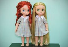 Specially made for Disney Animator dolls but it fits in other 16 inch dolls  Accesories and shoes not included