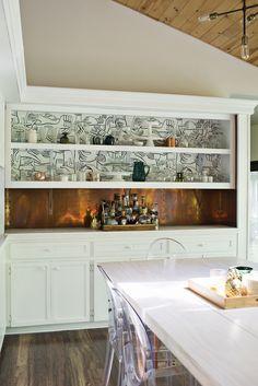 Progress Report: Dining Room Wallpaper