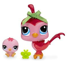 Littlest Pet Shop Bird and Baby Bird Figure Set * Want to know more, click on the image.Note:It is affiliate link to Amazon.