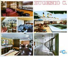Cruise Talk: The Eugenio C - The Eugenio Costa Costa, Edinburgh Castle, Travel Information, Cruise, Interior, Ship, Souvenirs, Historia, Indoor
