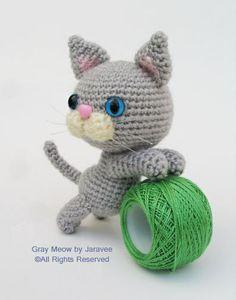 Gray Kitten by Jaravee, via Flickr