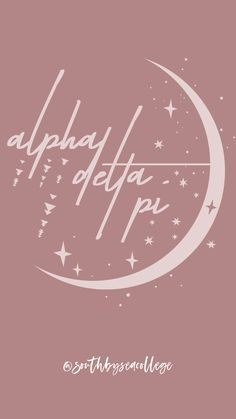 SOUTH BY SEA   @southbyseacollege ✰ Alpha Delta Pi   ADPi   Moon and Stars   Sorority Graphics   Sorority Wallpapers   South by Sea Original Sorority Names, Sorority Letters, Sorority Canvas, Sorority Paddles, Sorority Crafts, Sorority Life, Sorority Shirts, Sorority Recruitment, Alpha Xi Delta