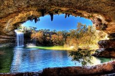 Swim in Hamilton Pool in Texas