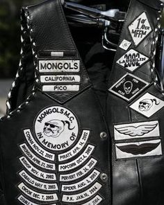 The Mongols Motorcycle Club.