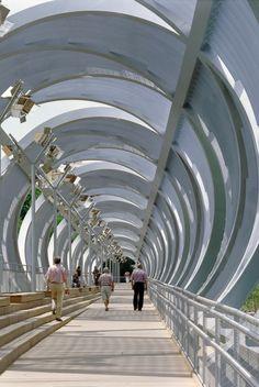 Arganzuela Footbridge / Dominique Perrault Architecture (4)