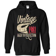 1981 T-Shirts, Hoodies. BUY IT NOW ==► https://www.sunfrog.com/Birth-Years/1981-7491-Black-10330632-Hoodie.html?id=41382