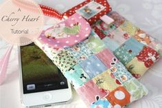 Here's my dinky little patchwork case for a mobile phone.   It's a fun little make for yourself and perfect for gifts too.  I hope you e...