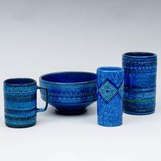 ALDO LONDI, BITOSSI CERAMIC, 4 kpl. Aldo, Ceramics, Mugs, Tableware, Ceramica, Pottery, Dinnerware, Tumblers, Tablewares