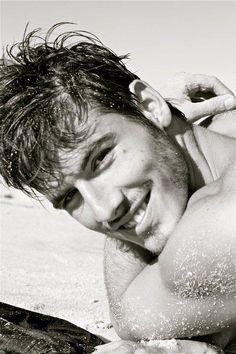 Lucas Bernardini - these Brasilians and their smiles!