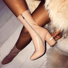 #houseofvdm ❤ #love Nude Shoes, Nude Color, Nudes, Knee Boots, Classy, Heels, Shopping, Instagram, Fashion