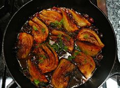 Caramelized and braised fennel - Our Italian Table