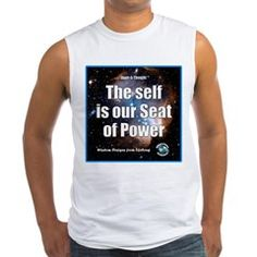 Seat of Power Men's Sleeveless Tee. We have the power to walk, talk, read, write, smile, frown, and build a home or business. We even have the power of infinite imagination. Refuse to be a victim or believe you're powerless!