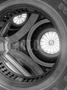 Interior of Essex County Courthouse Rotunda Photographic Print by Karen…