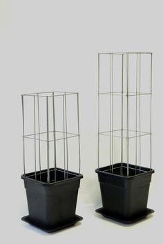 SMART PLANT SUPPORT ... wire columns complete with planter and water dish or just insert the wire column in the solid ground or a planter. http://www.easyplantpillar.nl/webwinkel/ga-naar-de-webwinkel.html