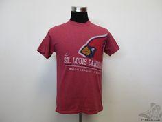 Majestic St Louis Cardinals BIG LOGO Short Sleeve t Shirt sz M Medium Baseball  #Majestic #StLouisCardinals