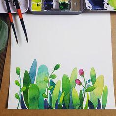 Resultado de imagem para watercolor illustrations #watercolorarts