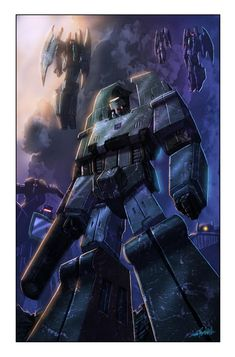 Megatron and the decepticons