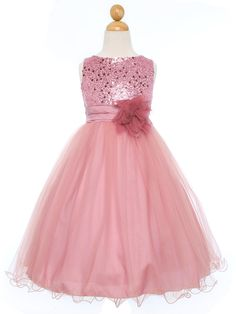 Wedding Ideas by Colour: Pink Flower Girl Dresses - Dress For Gorgeous Girls | CHWV